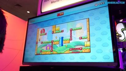 E3 2014: Mario vs. Donkey Kong - Gameplay