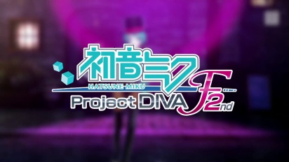 Project Diva F 2nd - Pre-order Trailer