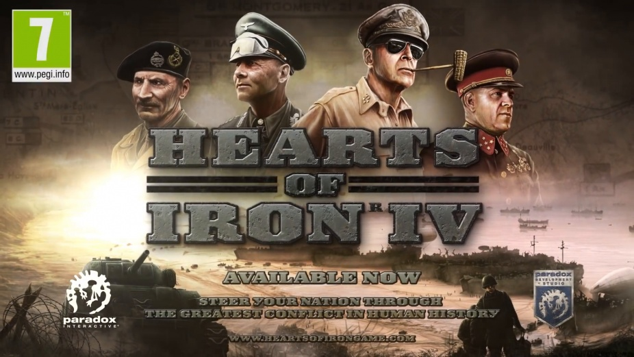 Hearts of Iron IV Review - Gamereactor