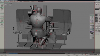 Heroes & Generals - Exit Flakvierling Animation Timelapse