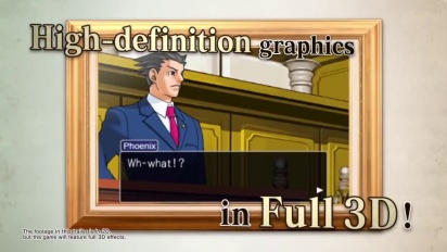 Phoenix Wright: Ace Attorney Trilogy  - Launch Trailer