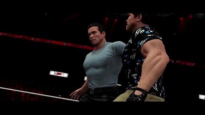 WWE 2K16 - Arnold Schwarzenegger - Trailer