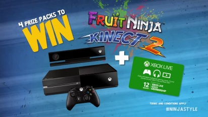 Fruit Ninja Kinect 2 - Xbox One Trailer