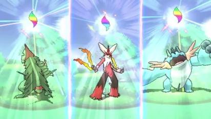 Pokémon Omega Ruby and Pokémon Alpha Sapphire - Primal Groudon & Primal Kyogre