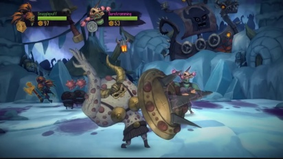 Zombie Vikings - PS4 Update Trailer