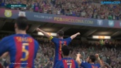 Pro Evolution Soccer 2017 - Full match gameplay Barcelona - Arsenal