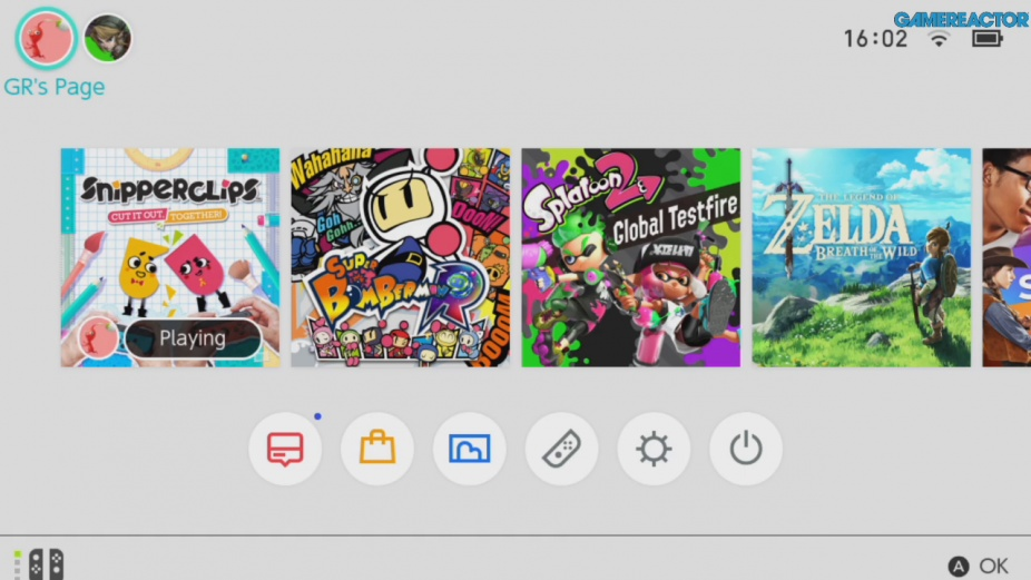 nintendo switch how to change player