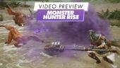Monster Hunter Rise - Video Preview