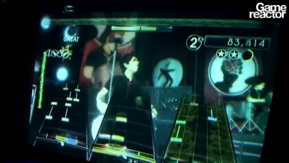 GDC 2010: Green Day: Rock Band - American Idiot Gameplay