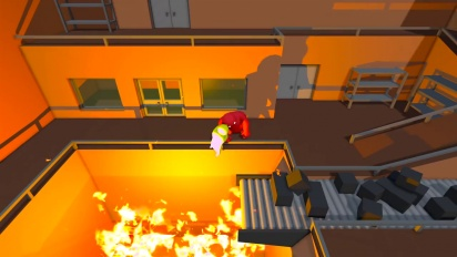 Gang Beasts - Incinerator Boss Fight Gameplay Trailer