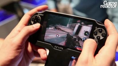 Resistance: Burning Skies - Vita Gameplay