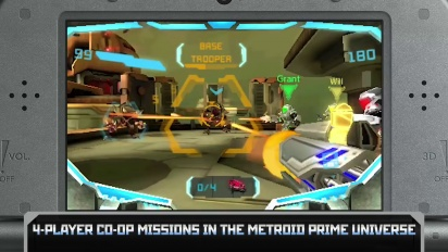 Metroid Prime: Federation Force - E3 2015 Trailer