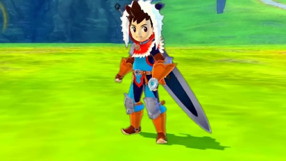 Monster Hunter Stories - Japanese TGS 2015 Trailer