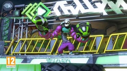 ARMS - Kid Cobra Character Gameplay