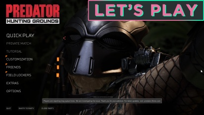 Let's Play Predator: Hunting Grounds