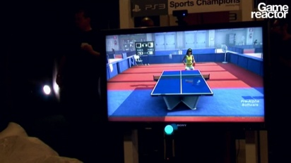 GDC 2010: Sports Champions - Table Tennis Gameplay