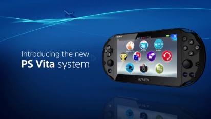 New PlayStation Vita - Announcement Video
