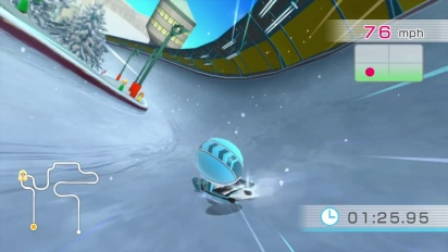 Wii Fit U - Core Luge Trailer