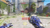 Overwatch - New Map: Eichenwalde Attack Gameplay