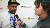 Pro Evolution Soccer 2017 - Adam Bhatti Gamescom Interview