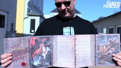 Unboxing the God of War III: Press Edition