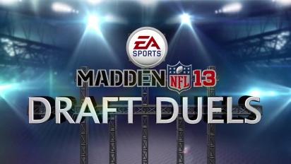 Madden NFL 13 - Draft Duels Game Mode Trailer