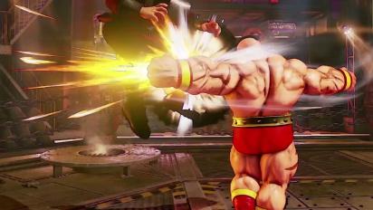 Street Fighter V - Zangief Reveal Trailer