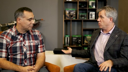 Xbox One X Enhanced Interview, Major Nelson and Albert Penello