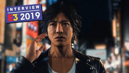 Judgment - Kazuki Hosokawa Interview