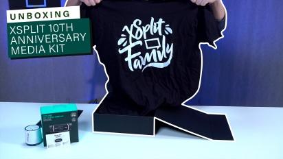 Xsplit 10th Anniversary Media Kit - Unboxing