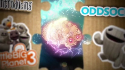 Little Big Planet 3 - Introducing Oddsock Trailer