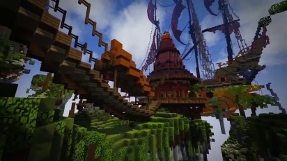 Pan Adventures in Minecraft Trailer