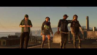 Watch Dogs 2 - Gameplay Trailer E3 2016