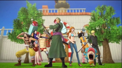One Piece: Pirate Warriors 2 - New World Edition Trailer
