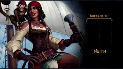 Smite - New Neith Skin: Buccaneith