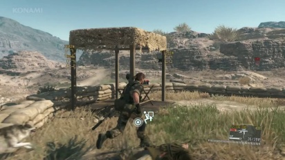 Metal Gear Solid V: The Phantom Pain - E3 2015 - Gameplay Demo