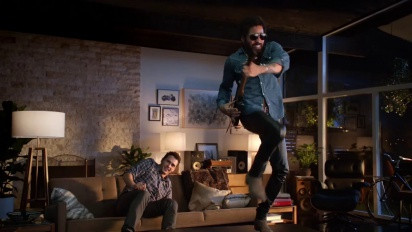 Guitar Hero Live - Lenny Kravitz & James Franco Win the Crowd Trailer