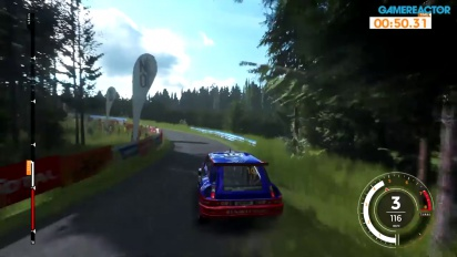 Sébastien Loeb Rally Evo - Gameplay PS4 - Rally Finland Himos - Renault R5 Turbo Group B