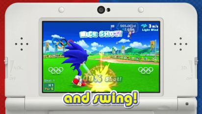 Mario & Sonic at the Rio 2016 Olympic Games - Nintendo 3DS Overview Trailer