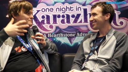 Hearthstone - One Night in Karazhan Peter Whalen Interview