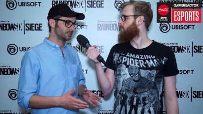 Rainbow Six Pro League Season 3 finals - Alex Remy Interview