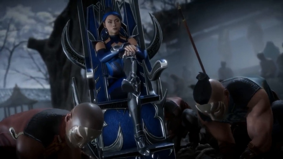 Kitana Kicks Ass In New Mortal Kombat 11 Trailer