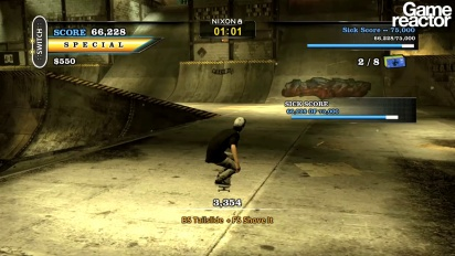 Tony Hawk's Pro Skater HD - Nyjah Huston Gameplay