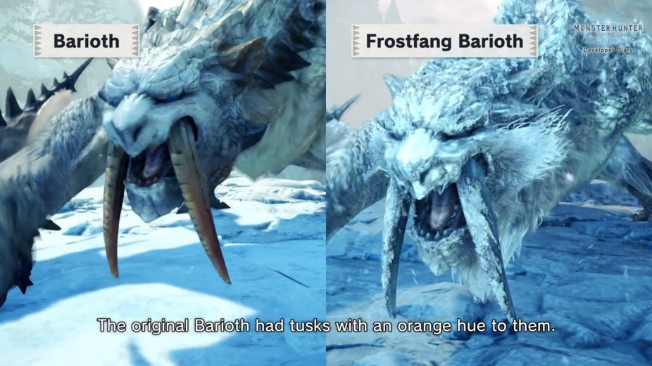 Monster Hunter World Iceborne Developer Diary 6 0