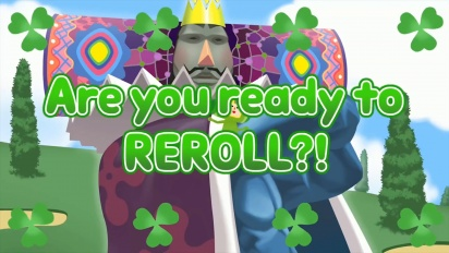 Katamari Damacy Reroll - Launch Date Trailer