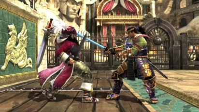 Soul Calibur: Lost Swords - E3 Cervantes Trailer