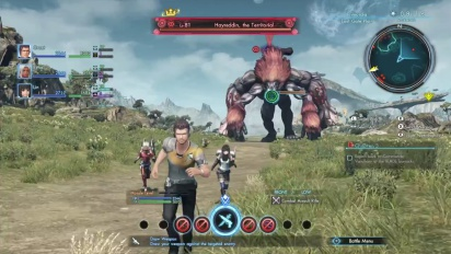 Xenoblade Chronicles X - Survival Guide Episode 2: Battle Screen