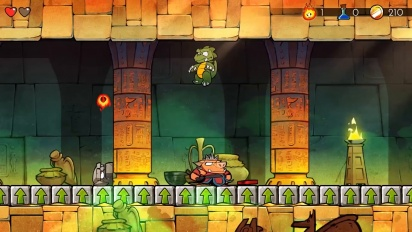 Wonder Boy: The Dragon's Trap - Retail release date trailer