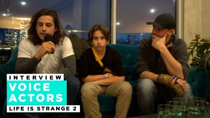 Life is Strange 2 - Roman George, Gonzalo Martin, and Phil Bache Interview