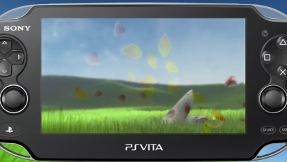 Flower for PS Vita - Gamescom 2013 Trailer
